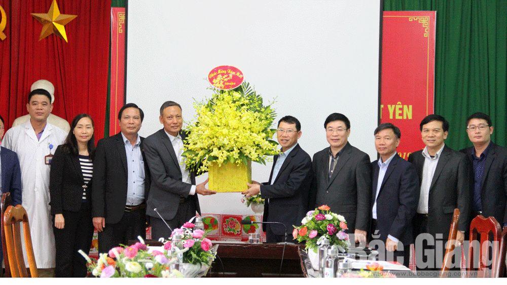 Phó chủ tịch UBND tỉnh Lê Ánh Dương kiểm tra công tác phòng bệnh viêm phổi do vi-rút Corona
